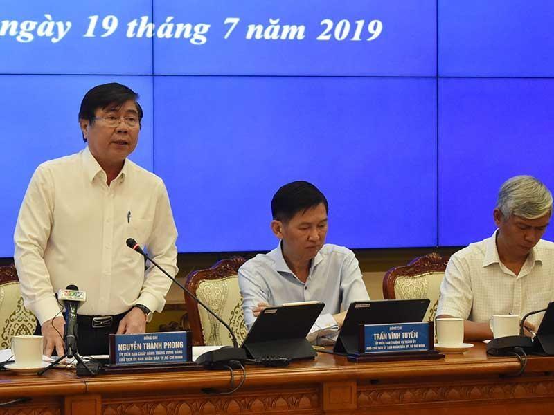 TP.HCM: Đầu năm 2020 sẽ vận hành dự án chống ngập 10.000 tỉ - ảnh 1
