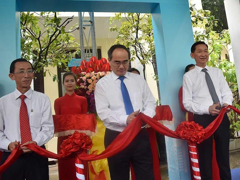 TP.HCM khánh thành Trung tâm mô phỏng dự báo kinh tế-xã hội - ảnh 1