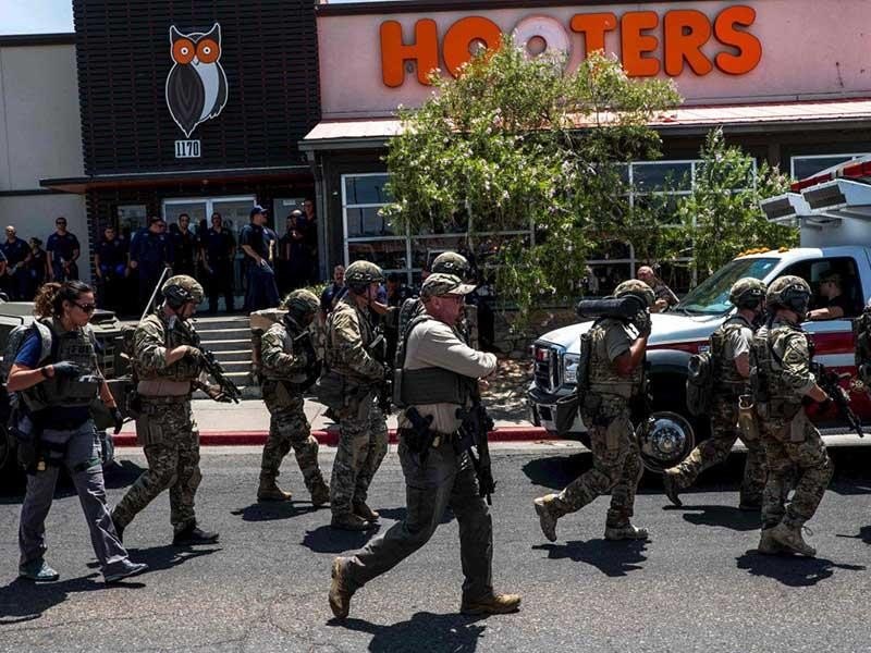 Chưa đầy 24 giờ, Mỹ hứng hai vụ xả súng hàng loạt - ảnh 1