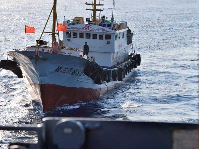 Sự nguy hiểm từ tàu dân quân biển của Trung Quốc - ảnh 1