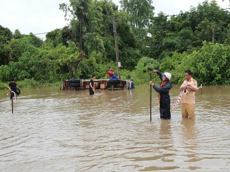 Ngập lớn nhiều nơi ở Đắk Lắk - ảnh 1