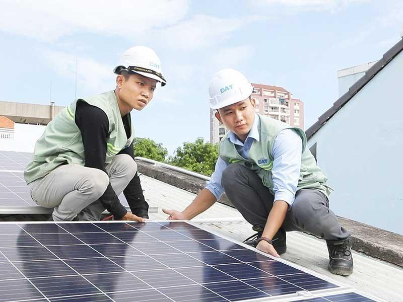 TP.HCM: Xúc tiến, phát triển mạnh điện mặt trời áp mái - ảnh 1