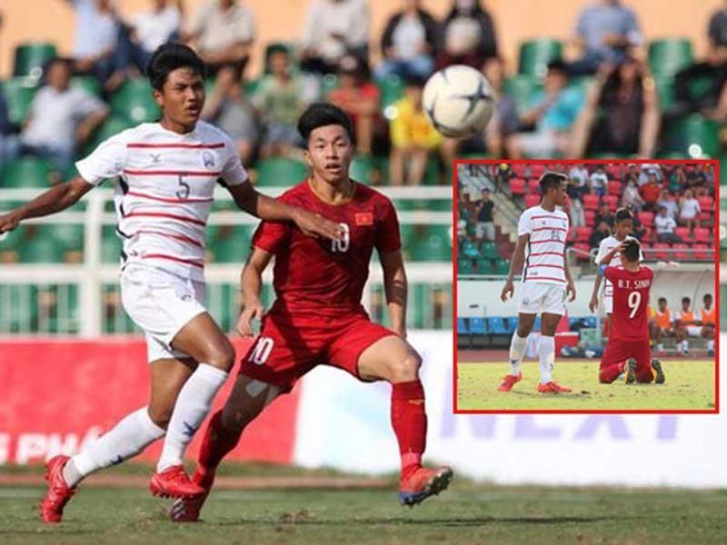 Thái Lan đá sòng phẳng thì U-18 Việt Nam lại thua Campuchia - ảnh 1