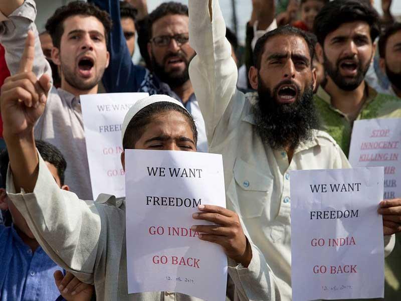 Pakistan đòi Liên Hiệp Quốc họp khẩn, nhờ Mỹ can thiệp Kashmir - ảnh 1