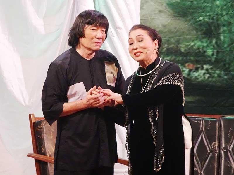 Nghệ sĩ Minh Vương giỗ tổ lớn mừng danh hiệu NSND - ảnh 1
