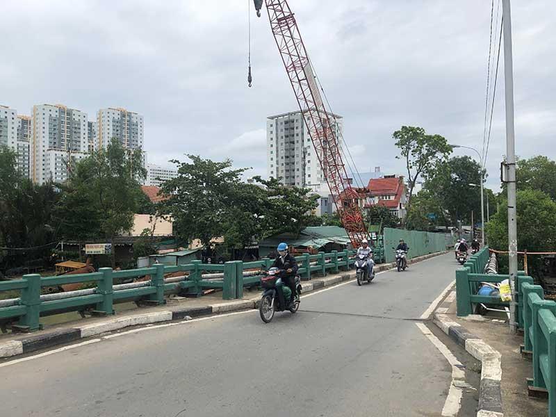 Giá bất động sản ăn theo cầu Phước Long mới - ảnh 1