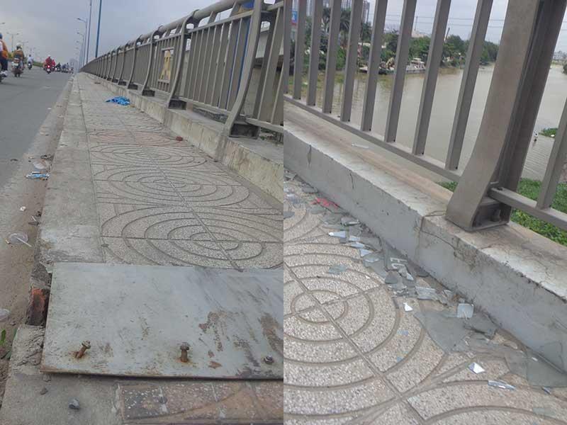 Những nguy hiểm trên cầu Rạch Chiếc - ảnh 1