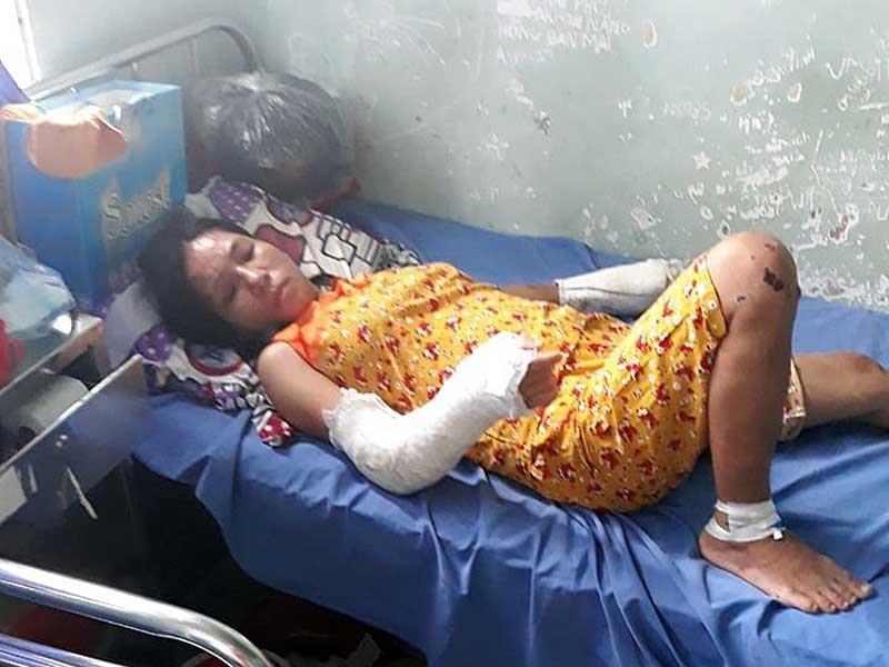 Thai phụ bị đánh tàn nhẫn: Có dấu hiệu tội giết người - ảnh 1