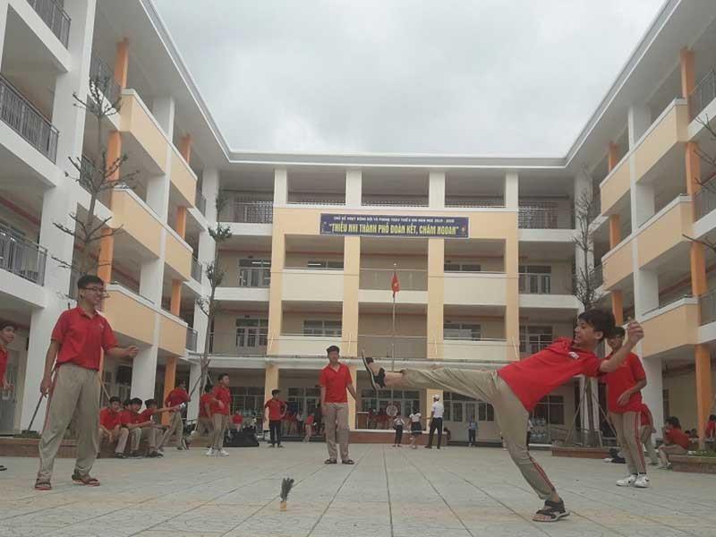 Hân hoan với những ngôi trường mới của TP - ảnh 1