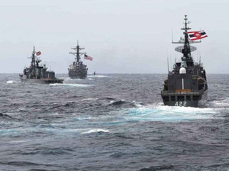 Nhìn từ cuộc diễn tập hàng hải Mỹ-ASEAN - ảnh 1