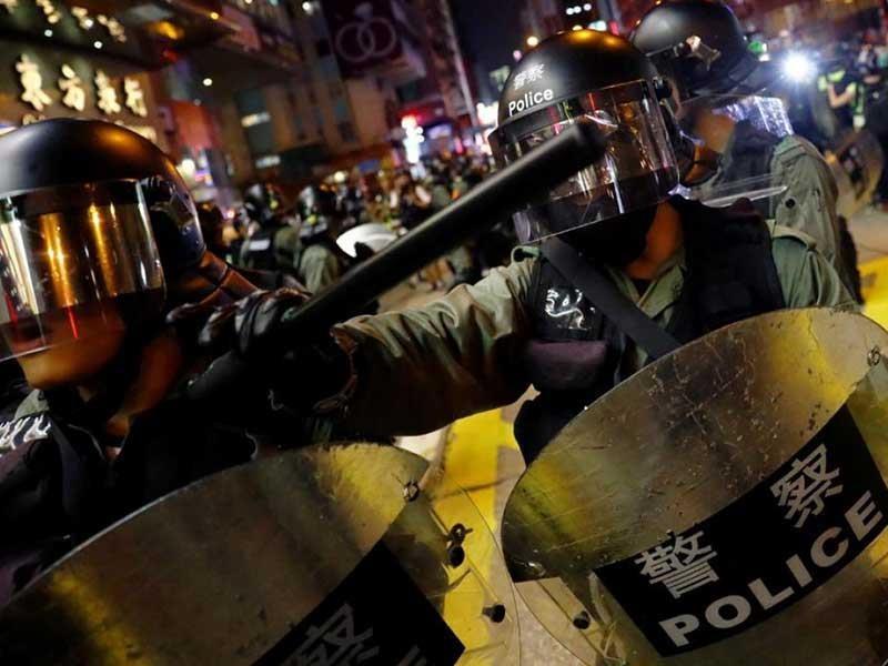 Hong Kong: Trung Quốc nói không ngồi yên nếu Mỹ can thiệp - ảnh 1