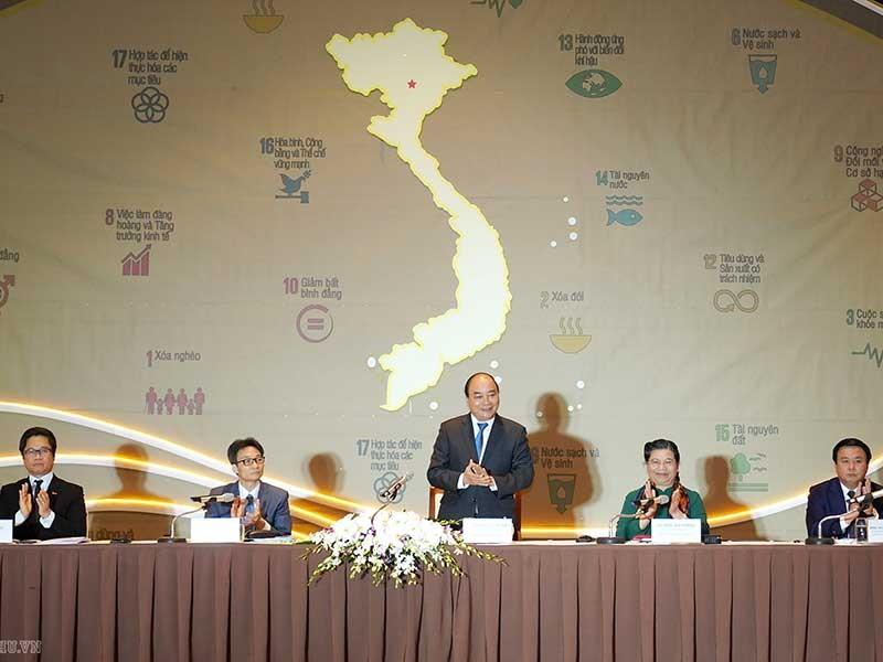 Thủ tướng chủ trì Hội nghị toàn quốc về phát triển bền vững - ảnh 1