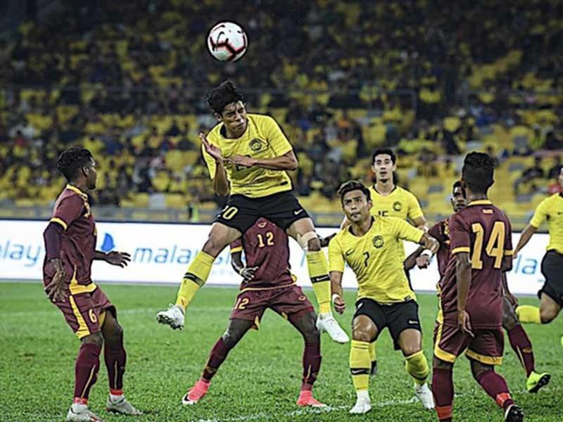 'Xệ cánh', Malaysia vẫn thắng đậm Sri Lanka trước khi sang VN - ảnh 1