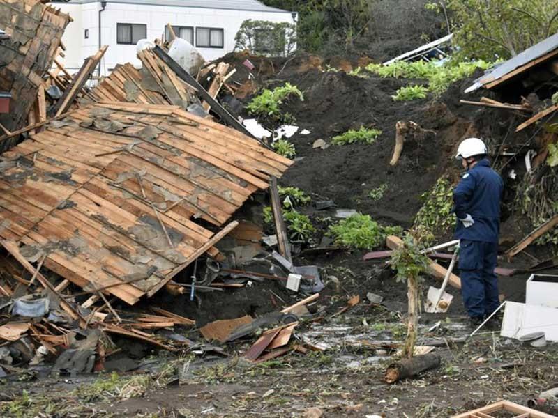 Nhật Bản: Nhiều vùng tan hoang do siêu bão Hagibis - ảnh 1