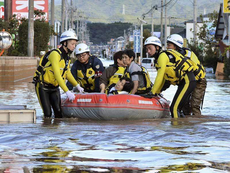 Nhật Bản: Nhiều vùng tan hoang do siêu bão Hagibis - ảnh 2