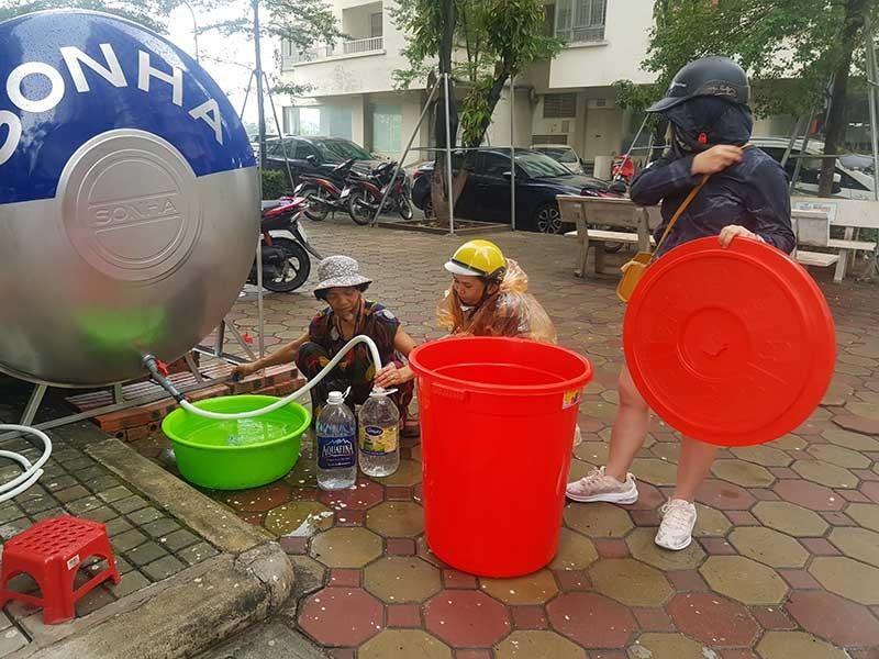 Khởi tố vụ án nước sạch sông Đà nhiễm dầu thải - ảnh 1