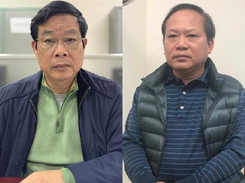 Hai cựu bộ trưởng đối diện hình phạt tử hình - ảnh 1