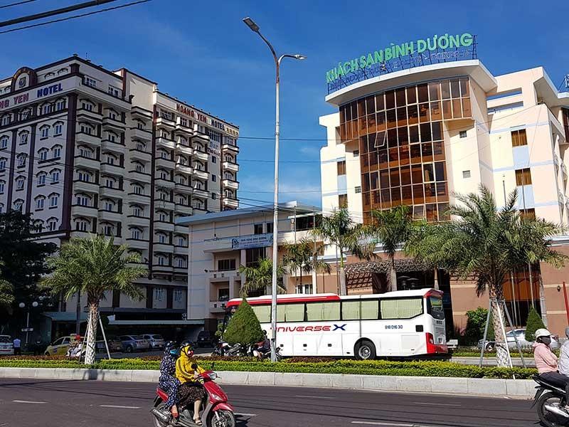 Giải tỏa ba khách sạn chắn tầm nhìn ra biển Quy Nhơn - ảnh 1