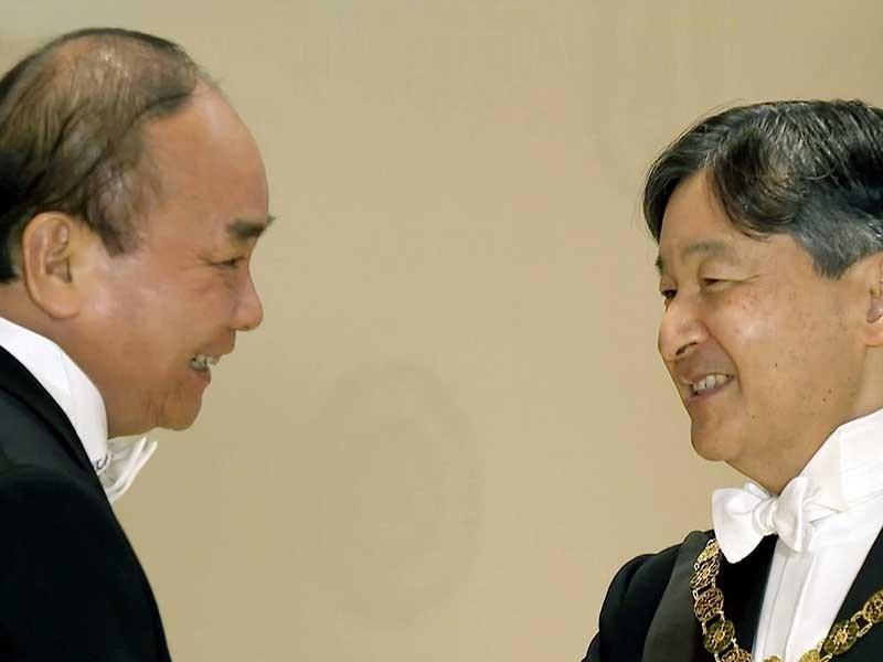 Thủ tướng kết thúc chuyến dự lễ đăng quang nhà vua Nhật Bản - ảnh 1