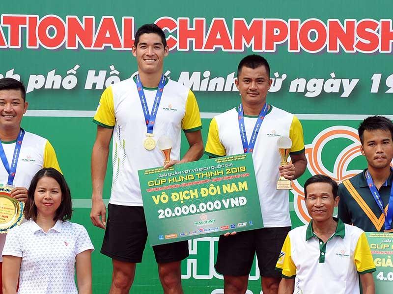 Quần vợt TP.HCM thắng áp đảo ở giải vô địch quốc gia - ảnh 1
