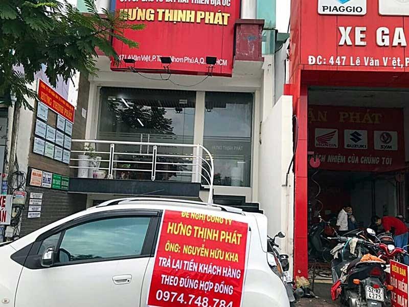 Phong tỏa tài khoản giám đốc địa ốc Hưng Thịnh Phát - ảnh 1
