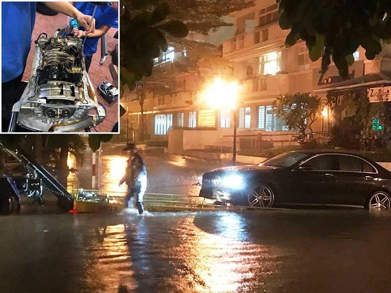 Ô tô bị ngập nước, kéo bảo hiểm ra tòa - ảnh 1