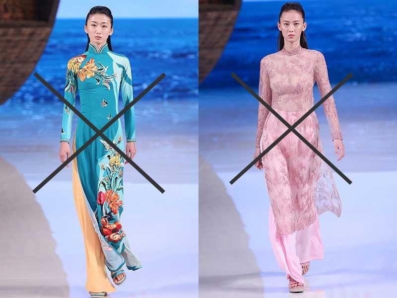 Nhận vơ áo dài Việt Nam là 'phong cách Trung Quốc' - ảnh 1