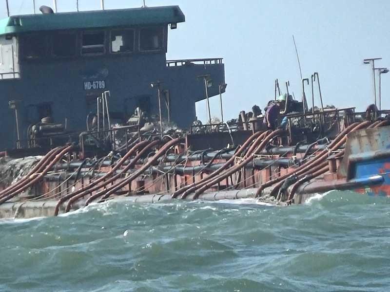 Tái diễn nạn sa tặc lộng hành trên biển Cần Giờ - ảnh 1