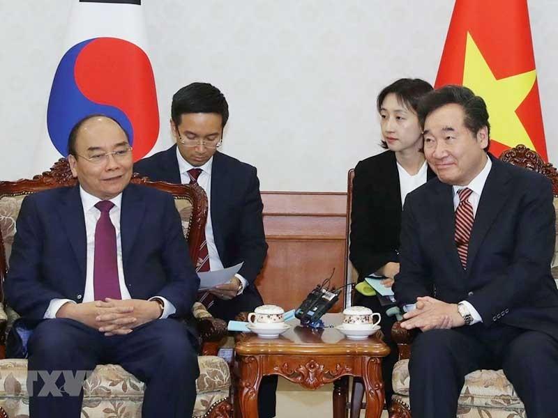 Chuyến thăm của Thủ tướng thúc đẩy quan hệ Việt - Hàn - ảnh 1