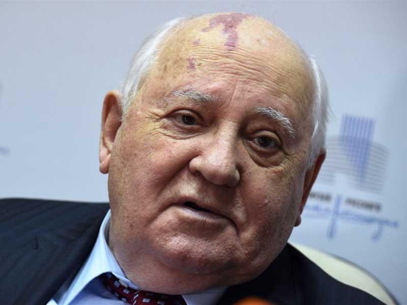 Ông Gorbachev mong Mỹ, Nga ngăn 'chiến tranh nóng' - ảnh 1