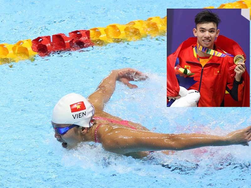 Ánh Viên lấy lại phong độ, Huy Hoàng phá kỷ lục SEA Games - ảnh 1