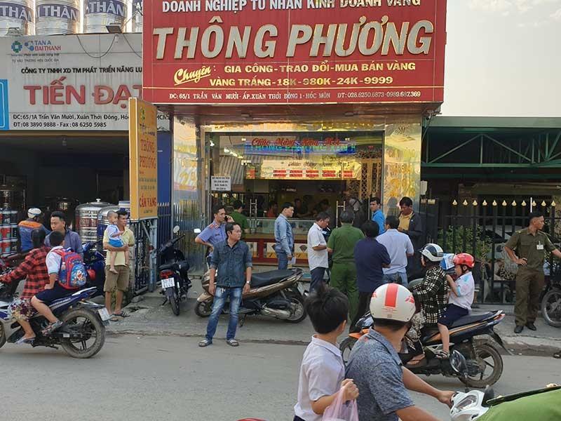 Ở Đồng Nai điều khiển cướp tiệm vàng tại Hóc Môn - ảnh 1
