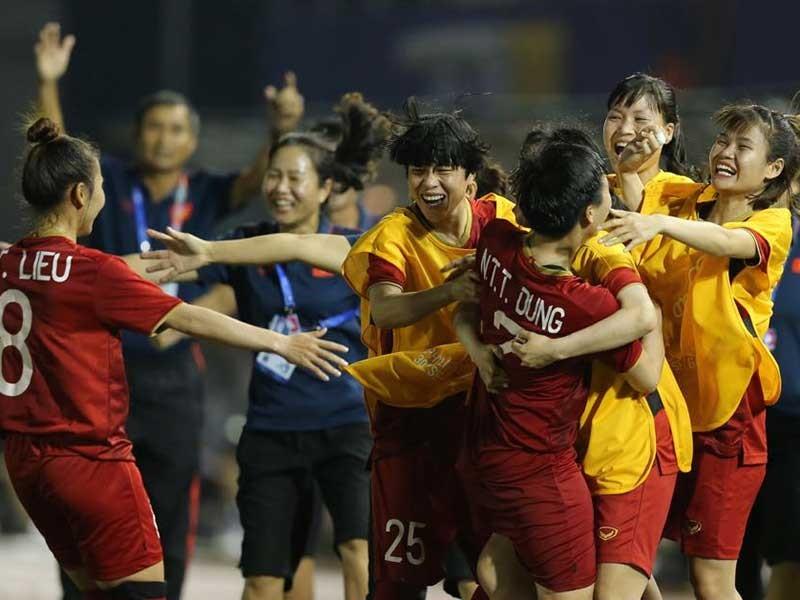 Bóng đá nữ, VN-Philippines (2-0): Tái ngộ Thái Lan ở chung kết - ảnh 1