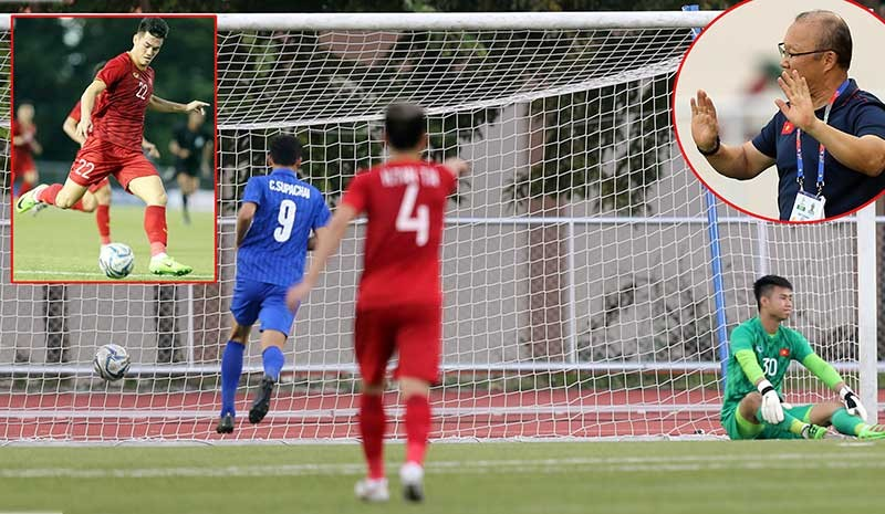 Việt Nam-Thái Lan (2-2): Trò ú tim của thầy trò ông Park! - ảnh 1