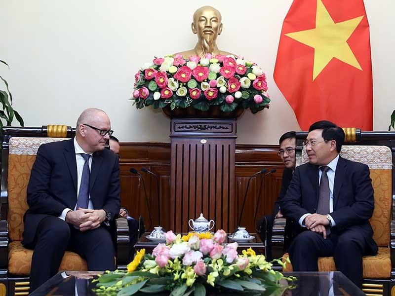 Đức muốn thúc đẩy quan hệ đối tác chiến lược với Việt Nam - ảnh 1