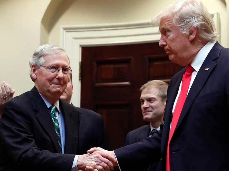 Luận tội ông Trump: Lưỡng đảng đều gặp rủi ro - ảnh 1