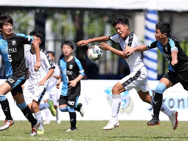 Từ giải thiếu niên U-13 Việt-Nhật: Hơn cả những trận bóng - ảnh 1