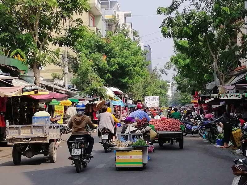 14 năm chưa xong dự án đường Phạm Văn Bạch - ảnh 1