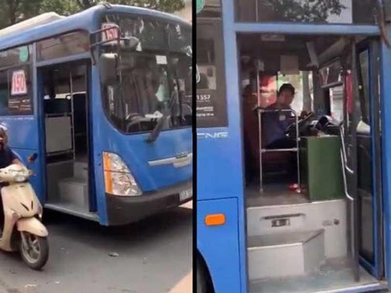Xử nghiêm tài xế xe buýt vi phạm - ảnh 1