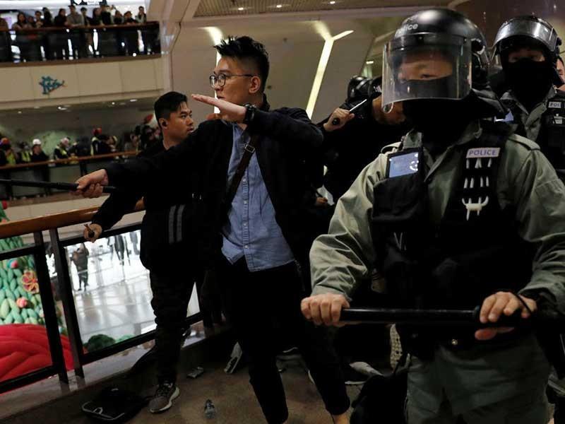 Hong Kong đón năm mới 2020 ra sao? - ảnh 1