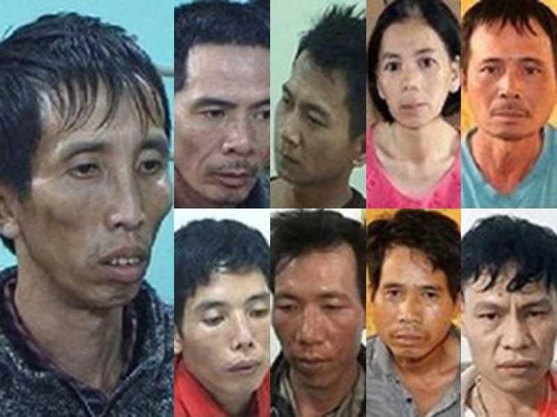 Xét xử 9 bị cáo sát hại nữ sinh giao gà ở Điện Biên - ảnh 1