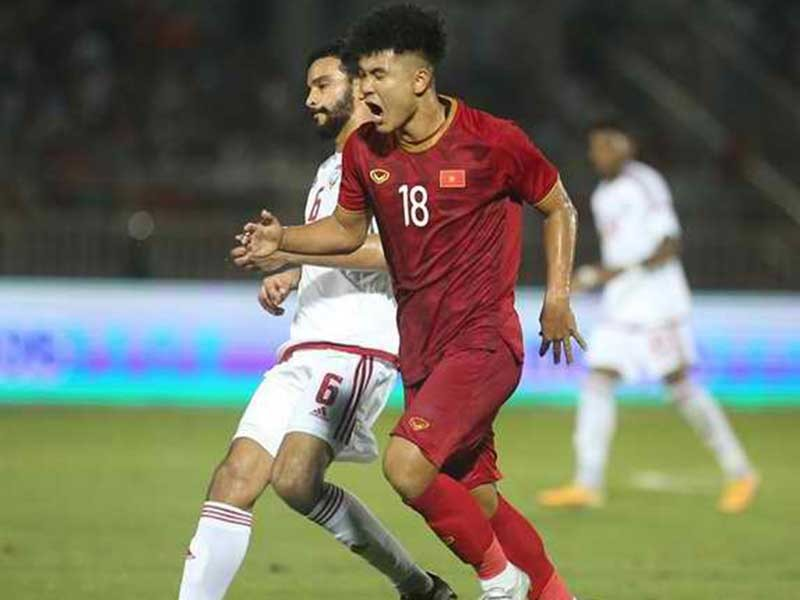 Cỡ đội tuyển UAE, thầy trò ông Park còn thắng được - ảnh 1