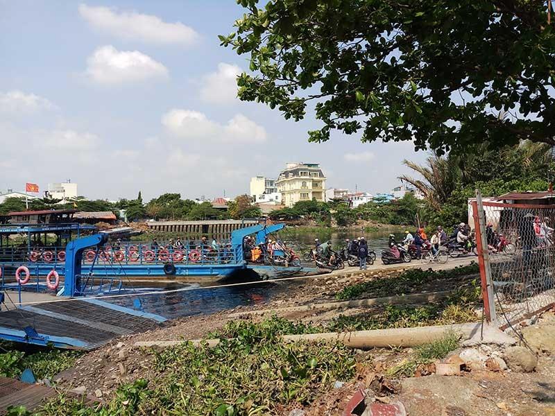 Sắp khởi công cầu sắt An Phú Đông - ảnh 1