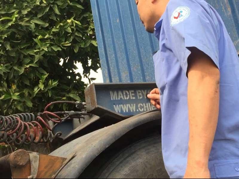 Điều tra: Cấp đăng kiểm cho xe container mất thắng - ảnh 4