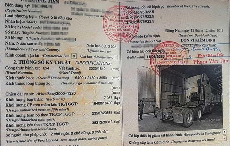 Điều tra: Cấp đăng kiểm cho xe container mất thắng - ảnh 3