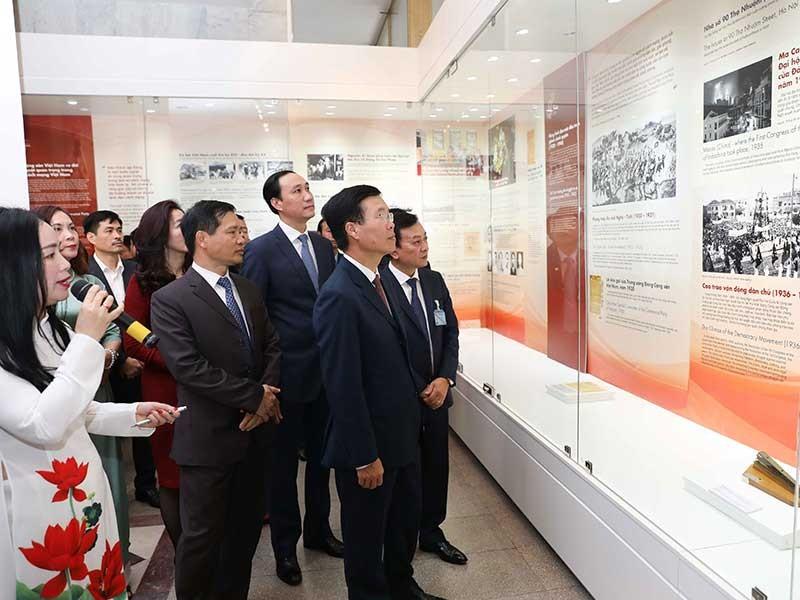 Trưng bày chuyên đề 'Tự hào 90 năm Đảng Cộng sản Việt Nam' - ảnh 1