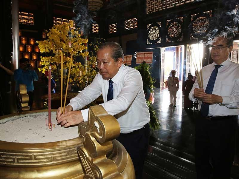 Phó Thủ tướng dự họp mặt truyền thống tại TP.HCM  - ảnh 1