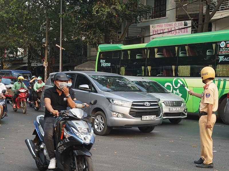 Không xảy ra ùn tắc giao thông dịp tết Canh Tý - ảnh 1