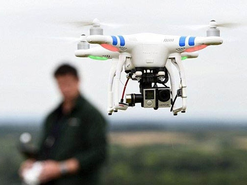 Máy bay không người lái uy hiếp an ninh hàng không - ảnh 1