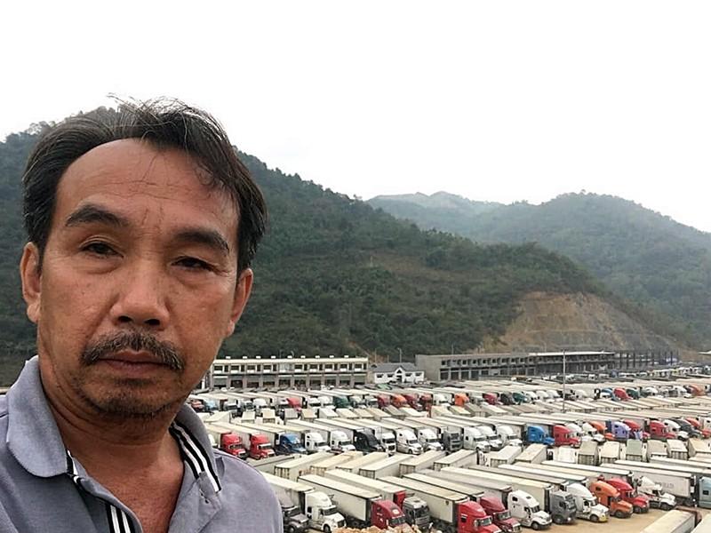 Nước mắt của những tài xế xe container trước giờ cách ly - ảnh 2